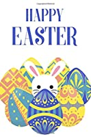 """Happy Easter: Blank Comic Book Practice Paper for Kids Notebook for K-3 Students 120 pages 6""""x9"""""""