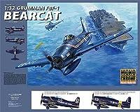 トランペッター モノクローム 1/32 アメリカ海軍艦上戦闘機 F8F-1 ベアキャット MCT012 プラモデル