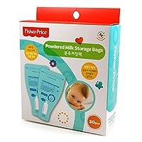 Fisher Price(フィッシャープライス) 粉ミルク貯蔵パック 30枚入 粉乳保存袋 BPAフリー [並行輸入品]