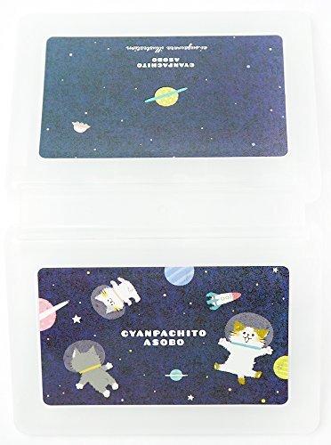 new3DS/LL/DS用カードケース24枚 クリア チャンパチ 宇宙飛行士
