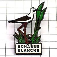 限定 レア ピンバッジ セイタカシギ背の高い鳥 ピンズ フランス