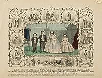 親指トムの結婚ヴィンテージポスターUSA C。1863 36 x 54 Giclee Print LANT-62990-36x54