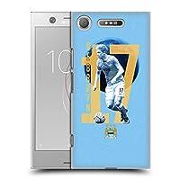 オフィシャルManchester City Man City FC Kevin De Bruyne プレイヤー Sony Xperia XZ1 / Dual 専用ハードバックケース