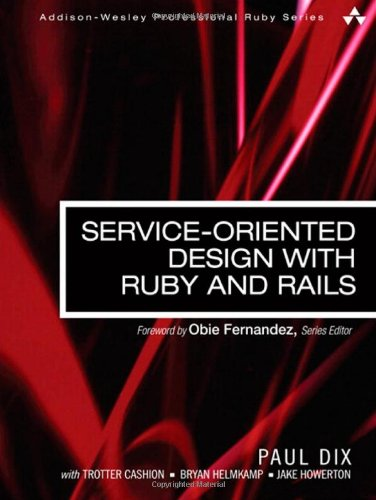 Download Service-Oriented Design with Ruby and Rails (Addison-Wesley Professional Ruby Series) 0321659368