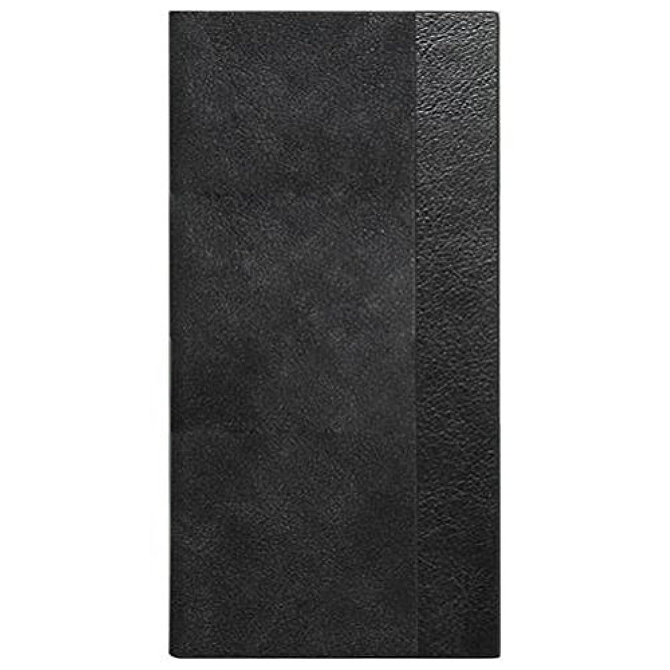 収益ビーチとげiPhone7/6s/6ケース 4.7インチ用 液晶割れ防止 スエードハイブリッド 左開き 右利き向き ブラック カード収納 MS2-P16L3BK ミライセル