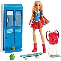 Mattel DC Super Hero Girls Supergirl Locker Accessory & Doll [並行輸入品]