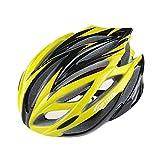 [AMANGU] ヘルメット 自転車 サイクリングヘルメット 細身のシルエット PC+EPS 大人用 サイズ調節 子供も利用可能 メンズ レディース アンチショック機能 安全 快適 頑丈 CEマーク準拠