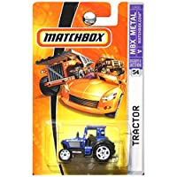 Matchbox 1:64 Scale MBX Metal #54 Blue Tractor