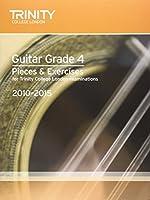 Guitar Exam Pieces Grade 4 2010-2015 (Trinity Guildhall Guitar Examination Pieces & Exercises 2010-2015)
