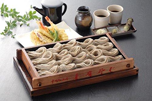 【乾麺とは思えないほどの滑らかなのどごしをご堪能ください。年越しそばにもギフトにも。】 玉垣製麺所 妻有そば 30把入
