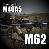 RSBOX 1/1スナイパーライフル エアコッキングガン レミントンM40A3 M62 エアガン