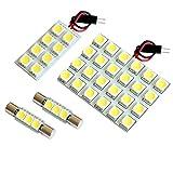 【断トツ114発!!】 T32 エクストレイル ハイブリッド LED ルームランプ 4点セット [H27.4~] ニッサン 基板タイプ 圧倒的な発光数 3chip SMD LED 仕様 室内灯 カー用品 HJO