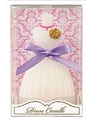 カメヤマキャンドル( kameyama candle ) ドレスキャンドル 「 ホワイト 」
