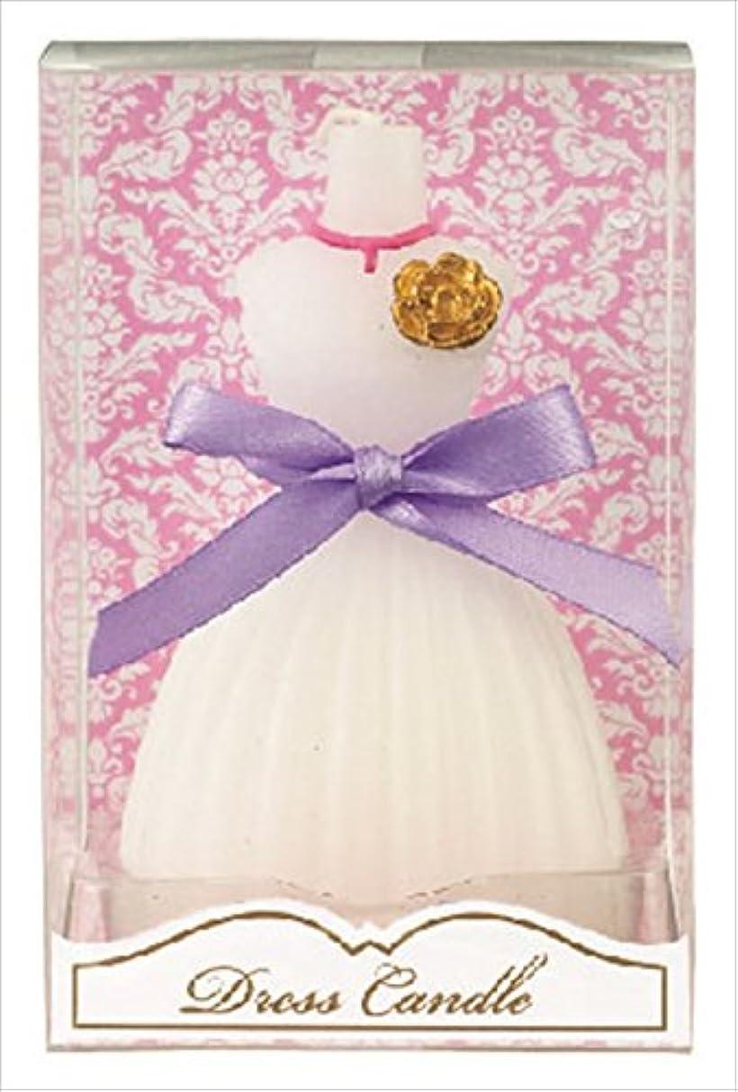 詐欺水素疎外カメヤマキャンドル( kameyama candle ) ドレスキャンドル 「 ホワイト 」