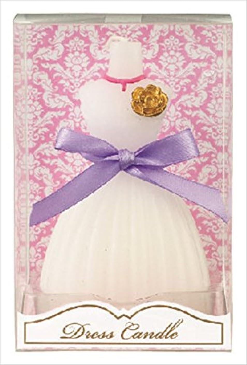 俳優警告する選挙カメヤマキャンドル( kameyama candle ) ドレスキャンドル 「 ホワイト 」