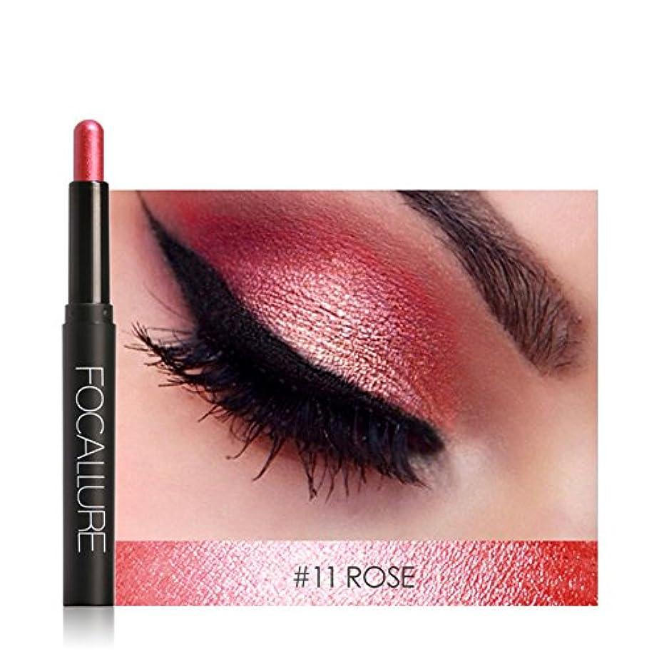 櫛取り出す発言するアイシャドウペン、12色アイシャドウペン横たわっているカイコアイライナースティック化粧品化粧品(#11)