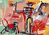 バスキアポスター Basquiat: Boy and Dog in a Johnnypump, 1982
