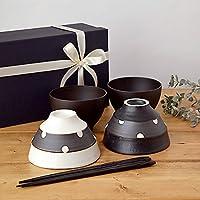 テーブルウェアイースト 和食器ギフトセット 夫婦茶碗セット 食器セット 結婚祝い 夫婦茶碗 (ドット)