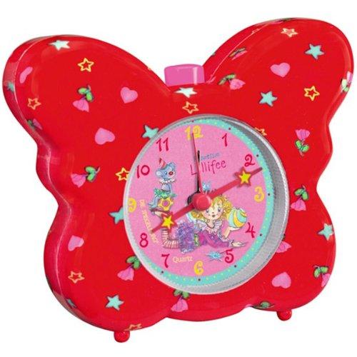 SPIEGELBURG【シュピーゲルブルグ / ドイツ】プリンセスリリー Princess Lillifee 蝶々のアラームクロック(目覚まし時計)