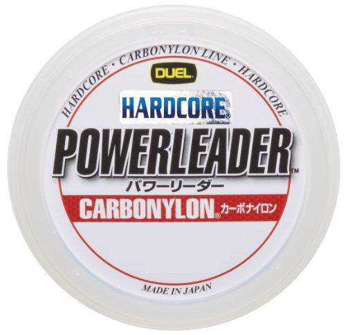 デュエル ハードコア パワー カーボナイロン 50m 5号 20lbs クリアー
