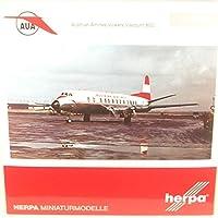 herpa 1/200 ヴァイカウント 800 オーストリア航空 OE-LAH アントン ブルックナー