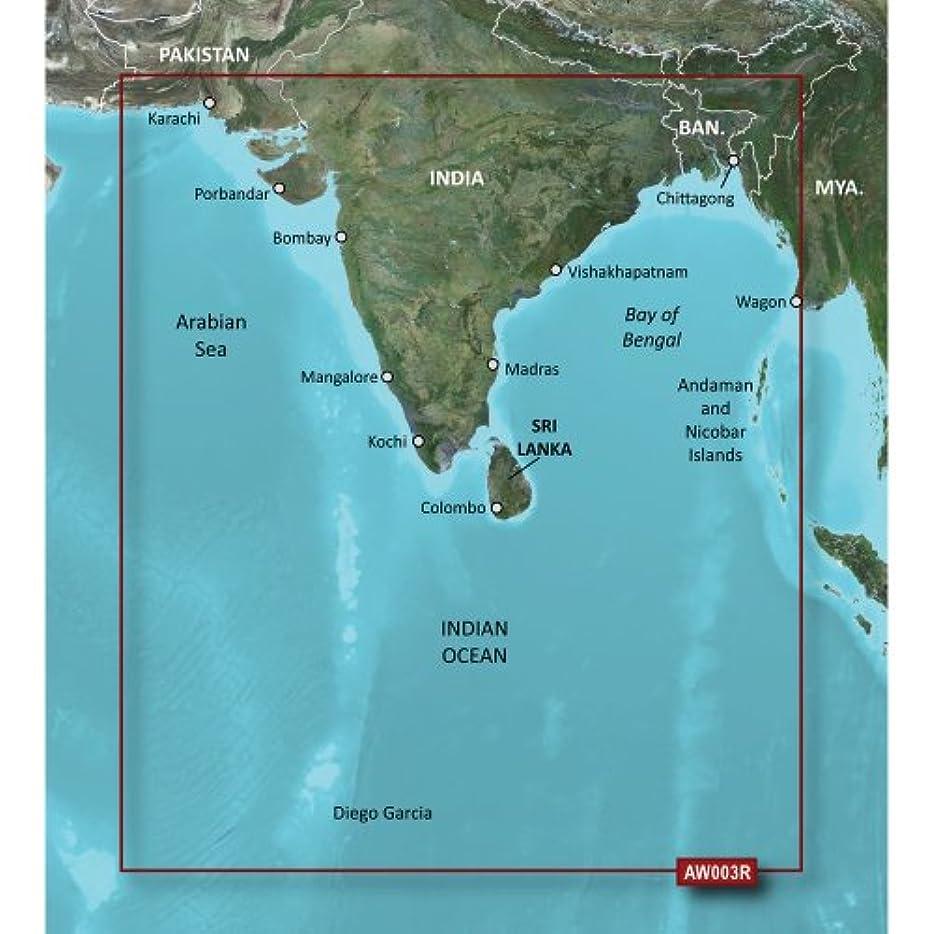 ちらつき前提条件オールGarmin 010-C0755-00 16Garmin VAW003R - Indian Subcontinent - SD Card