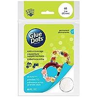 "Glue Dots 1"" XL Dot Sheets-60 Clear Dots (並行輸入品)"