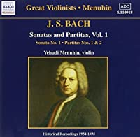 Sonatas & Partitas 1 (2006-08-01)