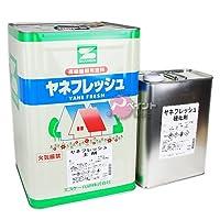 エスケー化研 ヤネフレッシュ 淡彩色 16kg RC-112 マルーン