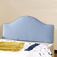 ZEMIN ベッドサイド クッション 枕 なし ヘッドボード サポート バックレスト ポケット ソファー 柔らかい バッグ ベッド 頭 大 リネン、 5色、 な11サイズ (色 : A, サイズ さいず : 130X66X8CM)