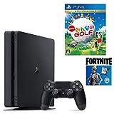 【プライムデー特別価格】PlayStation 4 フォートナイト ネオヴァーサバンドル + NewみんなのGOLF セット (ジェット・ブラック) (CUH-2200AB01)