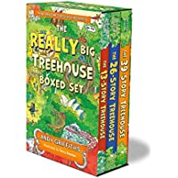 The Really Big Treehouse Boxed Set: The 13-story Treehouse; the 26-story Treehouse; the 39-story Treehouse (Treehouse Books)
