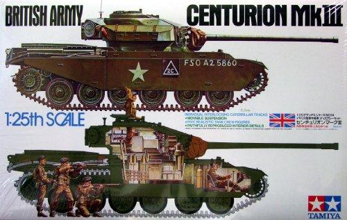 タミヤ 1/25 デラックス戦車シリーズ 1/25 イギリス戦車 センチュリオン Mk.III (ディスプレイ) 30614