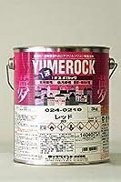 1液ユメロック 024-0210 (レッド) 3Kg/缶