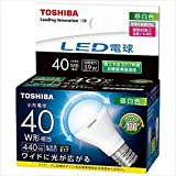 東芝 LED電球 ミニクリプトン形 440lm (昼白色相当)TOSHIBA LDA4N-G-E17/S/40W