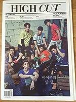 HIGH CUT KOREA【韓国雑誌】東方神起 iKON 表紙 2015年 7月号 Vol.152