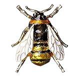 かわいいバチの昆虫の胸飾りの服アクセサリーエナメル胸飾り誕生日ギフトジュエリー
