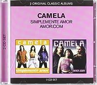 Camela - Simplemente Amor/Amor.Com (2 CD)