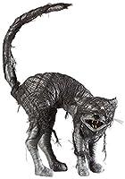 WIDMANN?大人のためのLEDライトアイを持つ猫ゾンビ、ブラック/レッド、ワンサイズ、vd-wdm07091