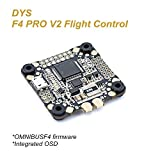 DYS f4フライトコントローラOmnibus Pro FC 5V 3A BEC出力サポート2–6sリポ30.5X 30.5mm統合OSD Include PPM VTX and RSSI VTXと現在センサーby Crazepony