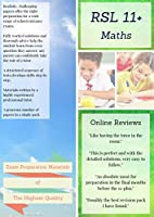 11+ Maths by RSL: Practice Papers with Detailed Answers & Explanations for 11 Plus / KS2 Maths