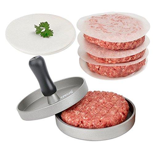 OVOS ハンバーガープレス 肉プレス キッチン用品 調理用品 新型金属製 DIY
