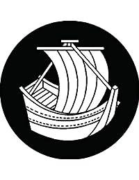 家紋シール 帆掛船紋 布タイプ 直径40mm 6枚セット NS4-2626