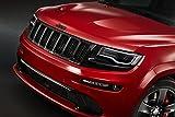 """ジープグランドチェロキーSRT Red Vapor Special Edition ( 2014)車アートポスター印刷10Milのアーカイブサテン紙レッドフロントCloseup Studio View 18""""x24"""" 76253"""