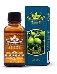 JYSPT オリーブオイル - 100%ピュアオイルオリーブ美容マッサージスパオリーブオイル-30ml