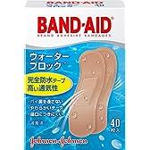 BAND-AID(バンドエイド) 救急絆創膏 ウォーターブロック 40枚