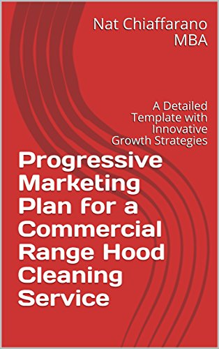 amazon progressive marketing plan for a commercial range hood