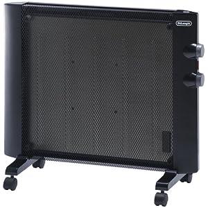 デロンギ マイカパネルヒーター 2~6畳 ブラック HMP900J-B