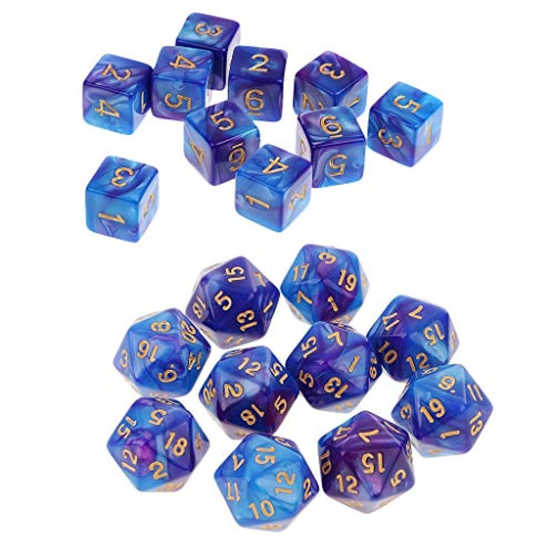 F Fityle 約20個 アクリル ダイス 骰子 ボードゲーム用