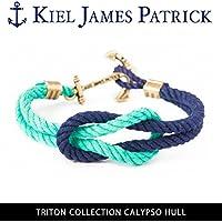 (キールジェイムスパトリック)KIEL JAMES PATRICK ロープ ブレスレット TRITON COLLECTION/CALYPSO HULL/TC-1546-1252 kjp-090